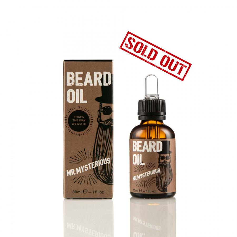 Mr. Μysterious – Beard Oil 30ml